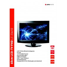 Agfaphoto LC23610 LCD TV 24 inch