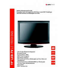 Agfaphoto LC19010DVD LCD TV 19 inch