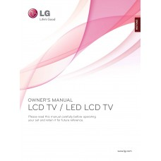 LG 19LE3400 LCD TV 19 inch