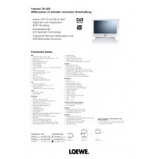 Loewe Connect 26 LED LCD TV 26 inch