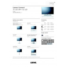 Loewe Connect 32 LED DR+ LCD TV 32 inch