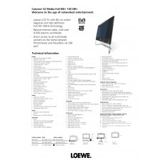 Loewe Connect 32 Media Full-HD+ DR+ LCD TV 32 inch