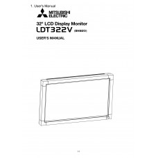 Mitsubishi Electric LDT322V LCD panel (without a tuner) 32 inch