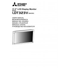Mitsubishi Electric LDT323V LCD panel (without a tuner) 32 inch