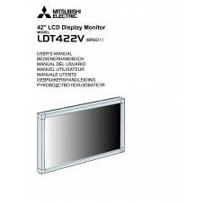 Mitsubishi Electric LDT422V LCD panel (without a tuner) 42 inch