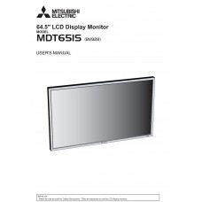 Mitsubishi LDT651L LCD panel (without a tuner) 65 inch