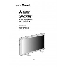 Mitsubishi MDT461S LCD panel (without a tuner) 46 inch