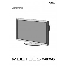 NEC MULTEOS M46 LCD panel (without a tuner) 46 inch