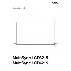 NEC MultiSync LCD3215 LCD panel (without a tuner) 32 inch