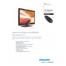 Philips 19HFL3233D LCD TV 19 inch