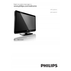 Philips 19PFL3205H LCD TV 19 inch