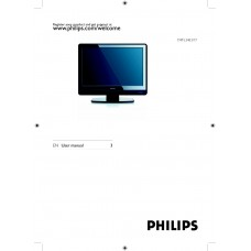 Philips 19PFL3403 LCD TV 19 inch