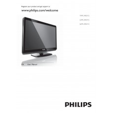 Philips 19PFL3405 LCD TV 19 inch