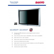 Sanyo 32LM5WP LCD panel (without a tuner) 32 inch