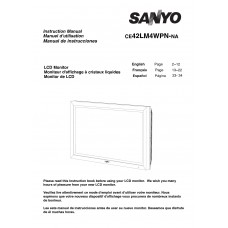 Sanyo 42LM4N LCD panel (without a tuner) 42 inch
